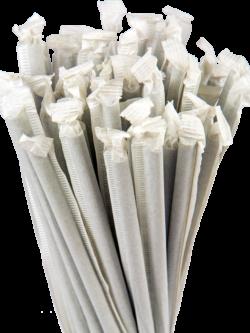 10.25″ Wrapped Giant Black Straws