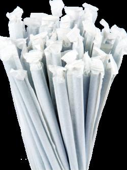 10.25″ Wrapped Giant Blue Straws