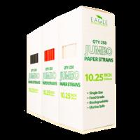10.25″ Jumbo Paper Straws (Multi-Pack)