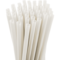 7.75″ Unwrapped Jumbo Natural Straws