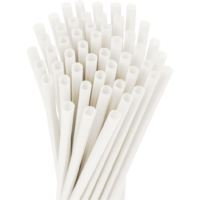 10.25″ Unwrapped Giant Natural Straws